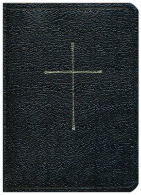 1979 Book of Common Prayer & NRSV Bible with the Apocrypha--genuine leather, black -