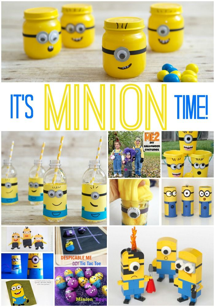 Minion Activities Crafts and Recipes #minions