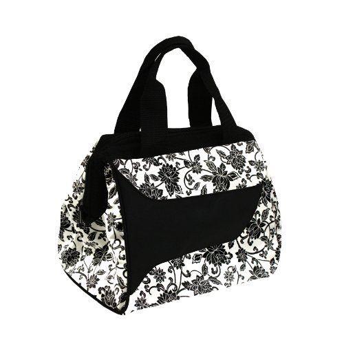 Downtown Insulated Designer Lunch Bag with Ice Pack, Ebony Pattern by Fit & Fresh, http://www.amazon.com/dp/B004S93DBC/ref=cm_sw_r_pi_dp_jqBLpb0CQTATX