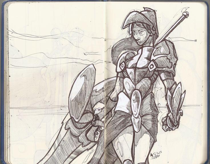 She the knight!