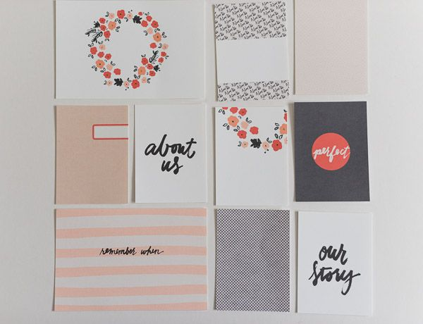 The Lilypad :: Journal Cards :: about us (journaling cards)