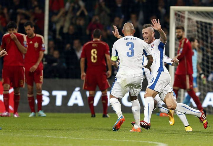 Clasificación Eurocopa 2016: Eslovaquia - España