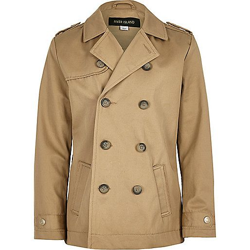 Boys stone traditional mac coat - jackets - coats / jackets - boys