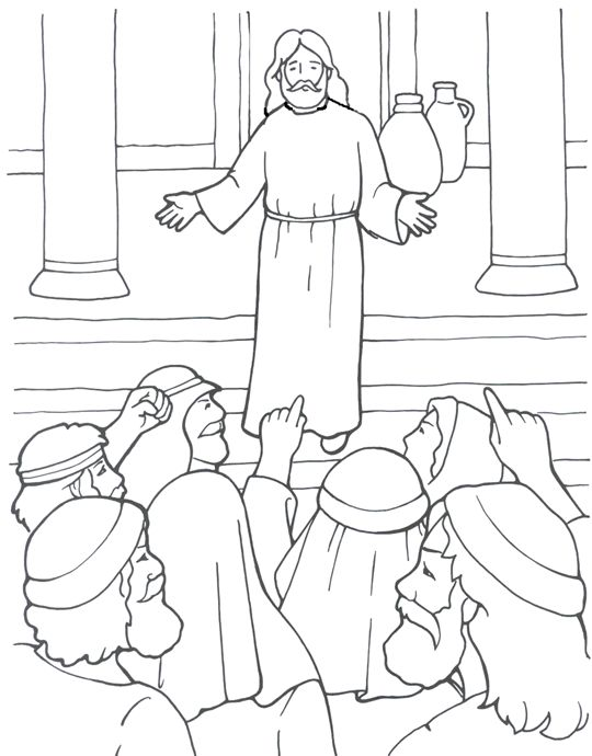 sermons4kids coloring pages - photo#29