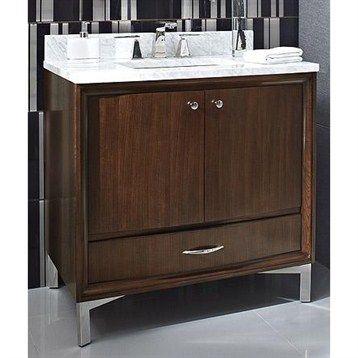 Fairmont designs seascape 36 vanity whiskey for Seascape bathroom ideas