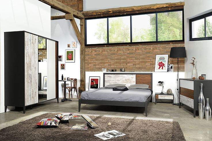 17 best images about chambre adulte design ou for Chambre contemporaine adulte