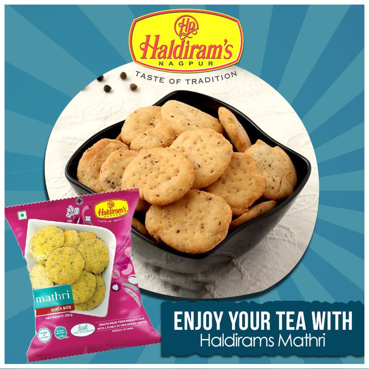Let's make more crunchy #teamoment with haldirams mathri.