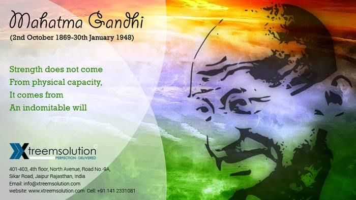He is the great leader who taught the world the power of Love. Happy Gandhi Jyanti! #GandhiJayanti