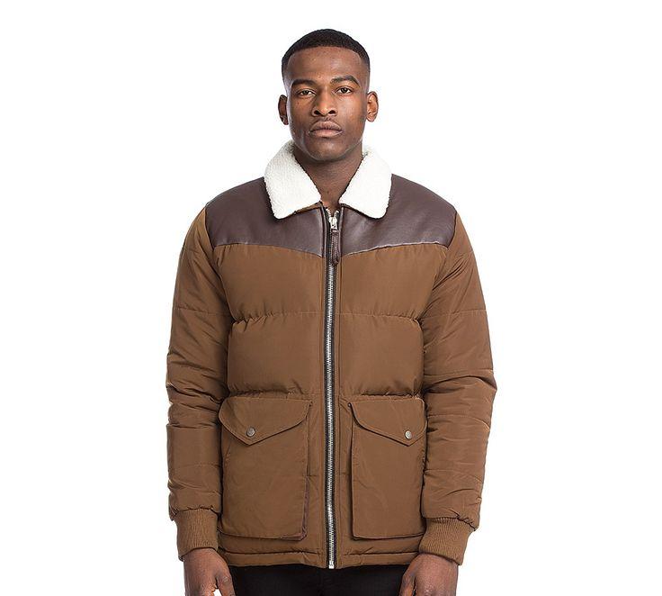 Sherpa Borg Collar Jacket