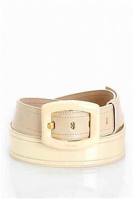 Prada Genuine Patent Leather Belt - Enviius