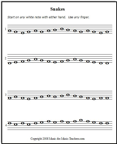 Sheet Music Template Violinlessonsforkids: Snakes Is The Direction Game Like Wormies. The Lines Are