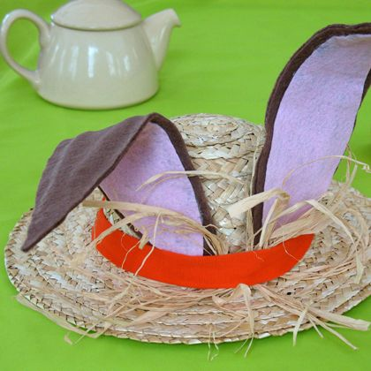 March Hare Easter Hat