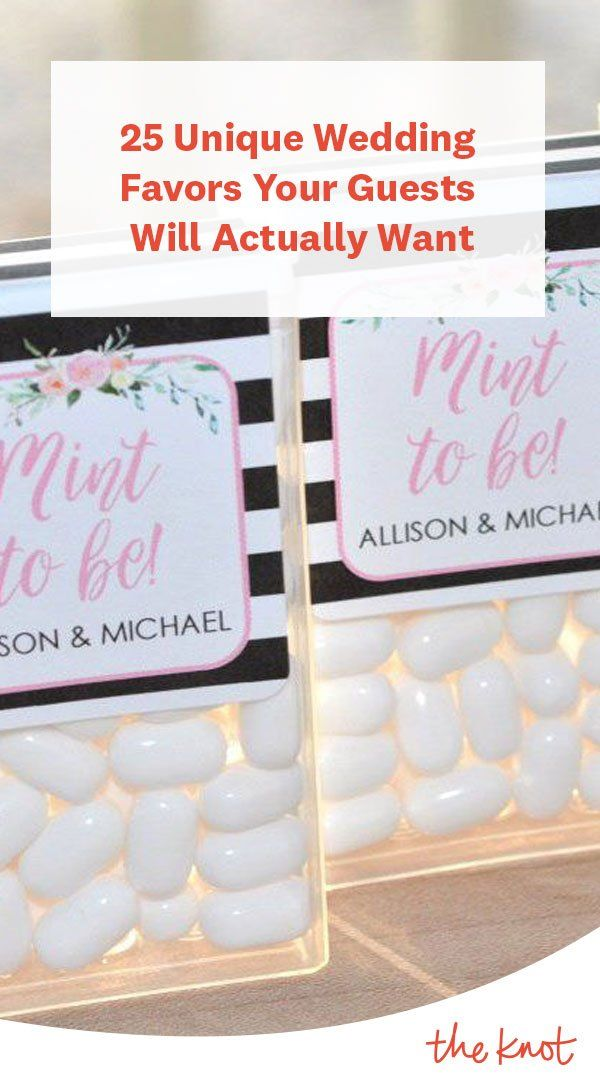 25 Unique Wedding Favors Your Guests Will Actually Want Unique Wedding Favors Summer Wedding Favors Spring Wedding Favors