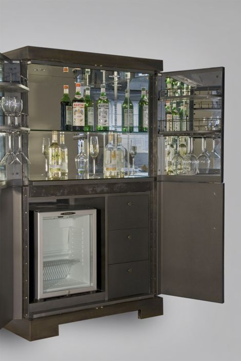 Rupert Bevan Commissions Cocktail Cabinet With