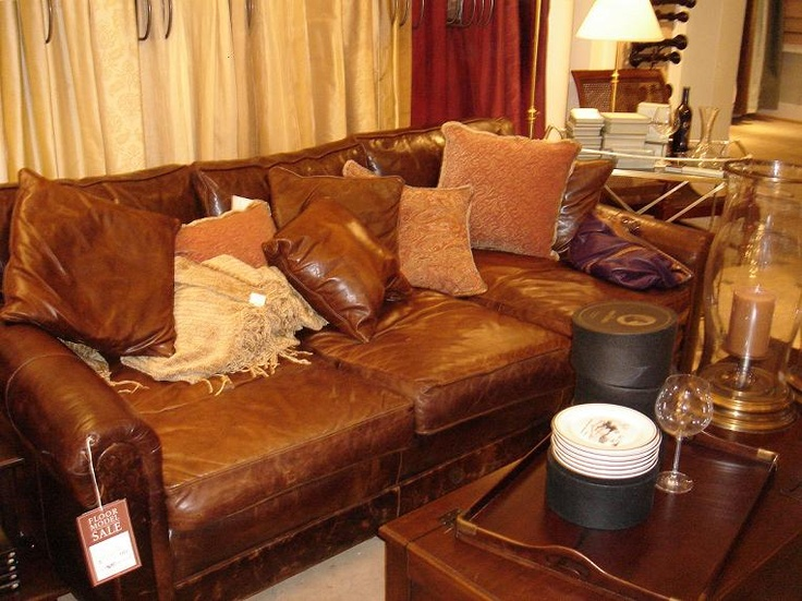 Comfortable Leather Couches