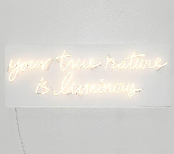 your true nature is luminous