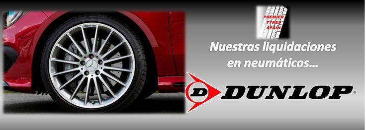 Ya podéis comprobar nuestras liquidaciones en neumáticos Dunlop