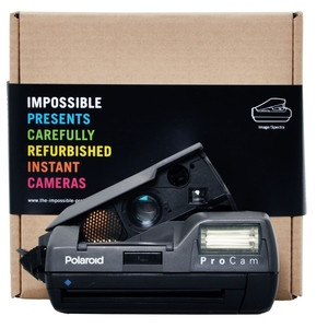 Polaroid Spectra Pro Cam Camera, 129€, by The Impossible Project !!