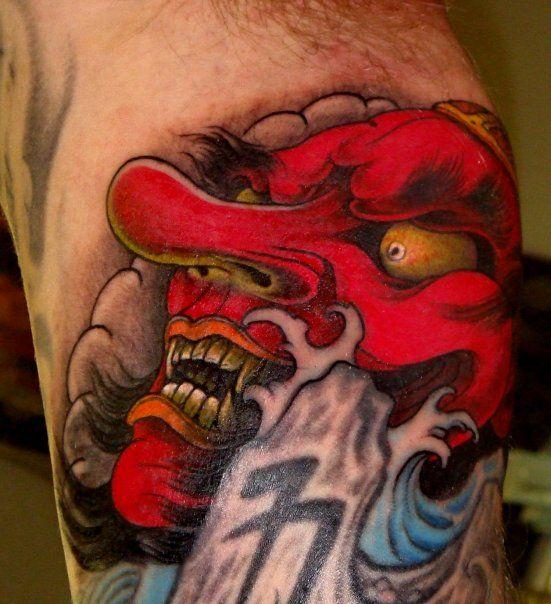 tengu tattoo #cultural #tattoo #tattoos