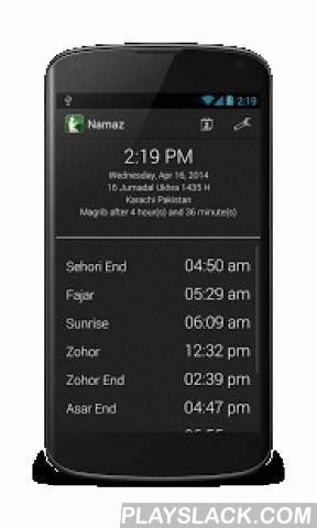 Namaz Awqaat With Miqaat  Android App - playslack.com ,  Namaz Awqaat is a comprehensive one of a kind Namaz (prayers) reminder application for daily use with reminder for all the Miqaats (events) for the Dawoodi Bohra community. ♦ FEATURES○ timings for sehori end, fajar, sunrise, zawal, zohor end, asar end, magrib, nisfullail, nisfullail end○ hijri calendar with all important miqaats saved by default including urus and salgira of duat and hudood○ add personal events for Hijri and Gregorian…