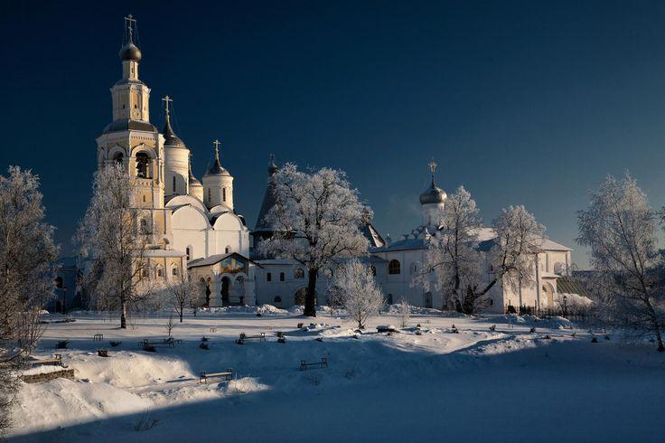 ❄ На исходе морозного дня. © Юрий Чубар ❄ ❄ https://pp.vk.me/c836535/v836535202/2a11b/QyXHW6bpc1Y.jpg