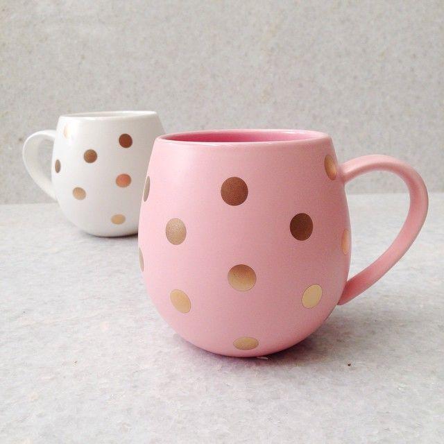 Our new spotty Hug me Mugs coming soon. By Robert Gordon Australia @robertgordonaustralia #sneakpeek