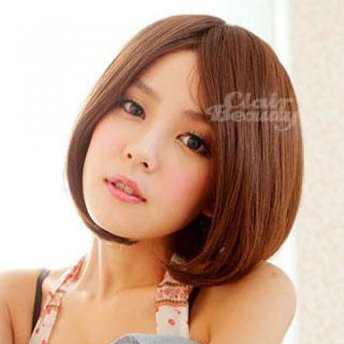 Short Wigs - Straight Caramel - One Size