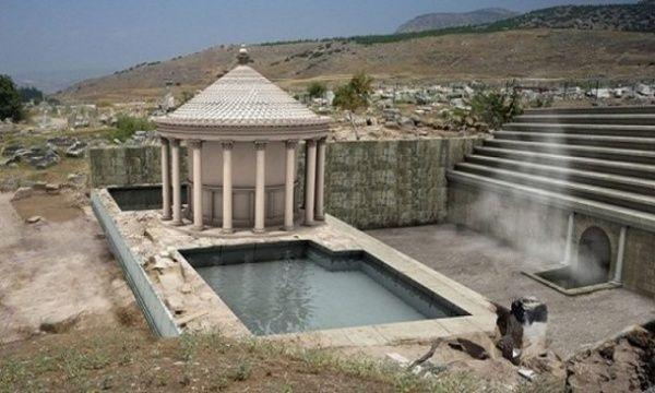 Cehennemin kapısı Türkiye'de bulundu... Cehennemin kapısı Türkiye'de bulundu. İtalyan arkeologlar Türkiye'deki yaptıkları kazılarda eski Roma ve Yunan mitolojisinde cehenneme geçiş kapısı olduğu düşünülen kapıyı bulduklarını açıkladılar.