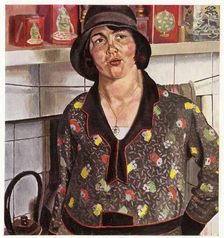 'Country Girl', 1929 - Sir Stanley Spencer   (1891-1959)