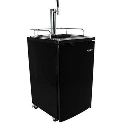 Edgestar Full Size Beer Kegerator, Keg Dispenser Cooler Fridge w/ CO2 Tank & Tap #EdgeStar