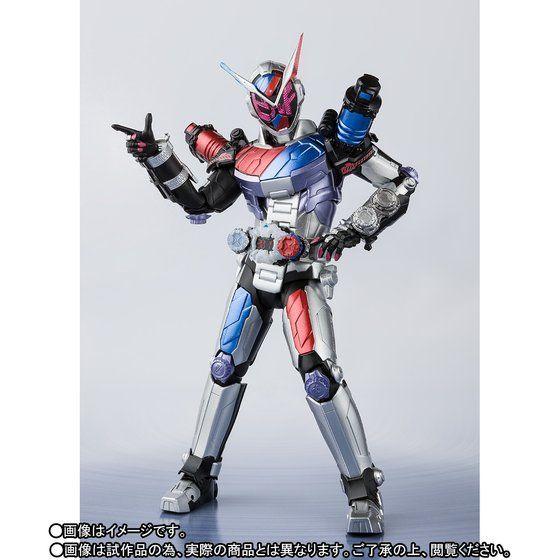 S H Figuarts Kamen Rider Zi-O Build Armor | S H Figuarts