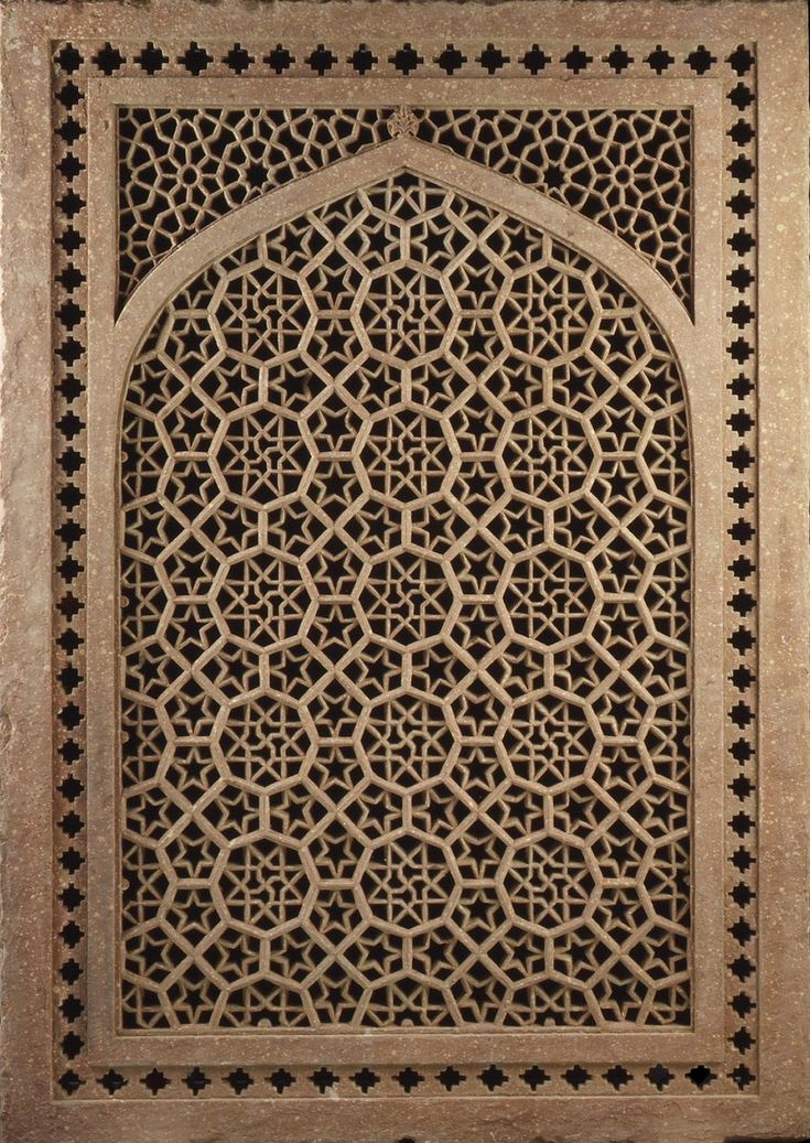Jalis, or pierced screens, were used extensively in Indian architecture.