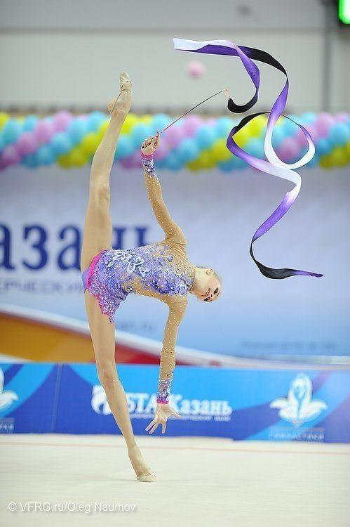 Ribbon #rhythmic #gymnastics