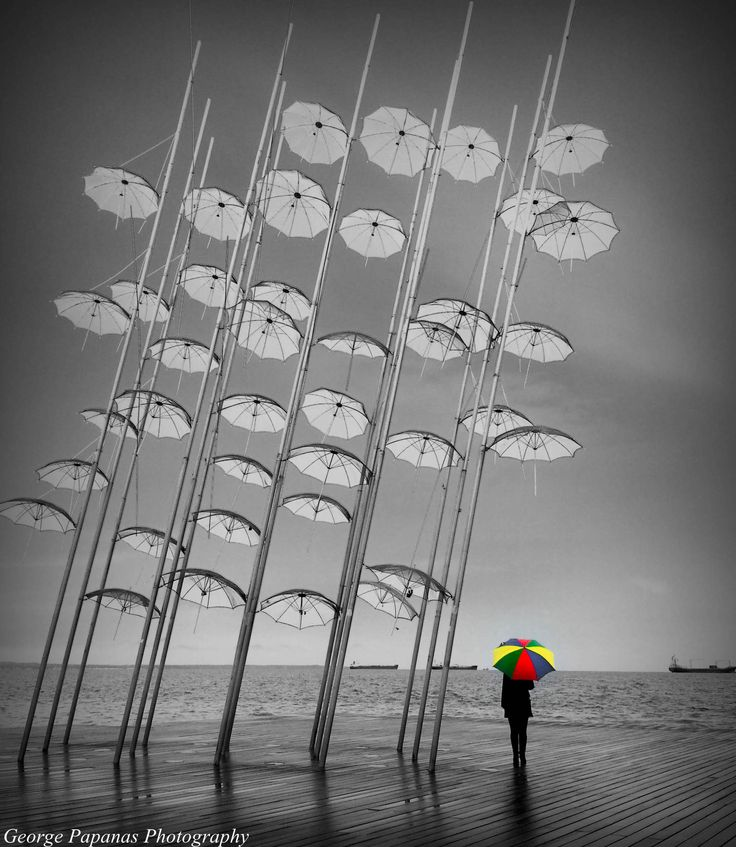 Ομπρέλες... Θεσσαλονίκη, Thessaloniki...