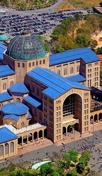 Cathedral Basilica of the Aparecida do Norte- Sao Paulo State, Brazil (Catholic)…