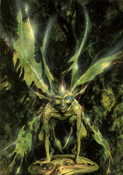Good faeries, bad faerie ~ brian froud ~ nicely illus ...