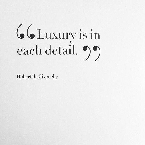 Luxury is in each detail - GIVENCHY
