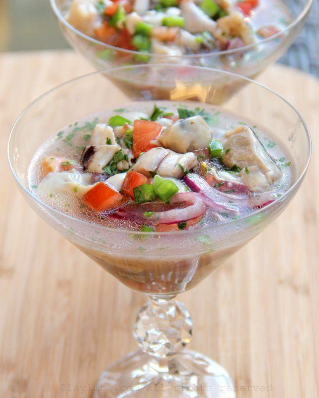Ceviche de ostras o ceviche de ostiones – Recetas en español
