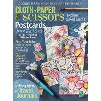 Cloth Paper Scissors, July/August 2017 Print Edition | NorthLightShop.com
