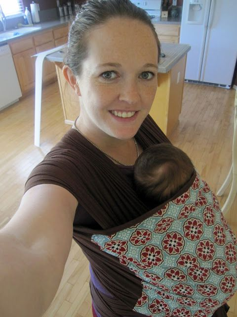 Shannon Makes Stuff: Baby Wearing! A Baby Wrap Tutorial...