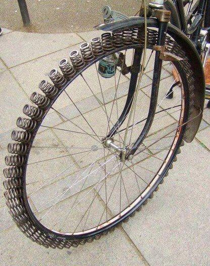 New suspension design?