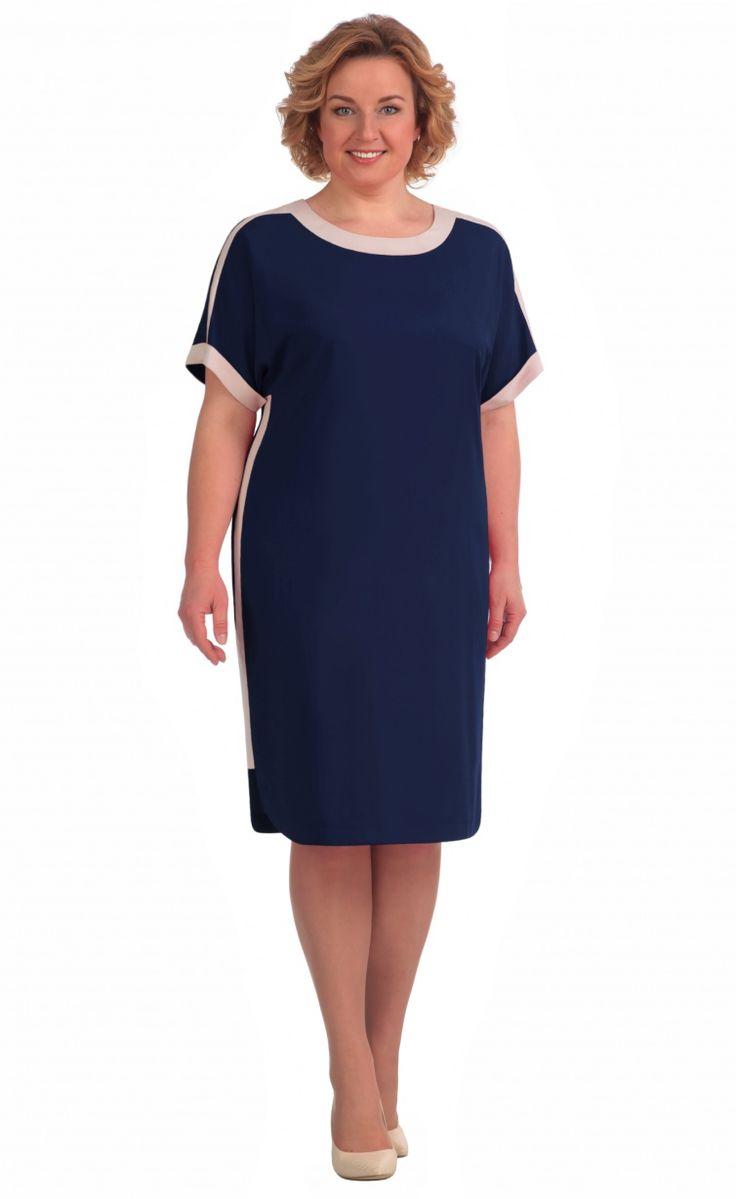 Платье Линия Л арт. 1557 синий