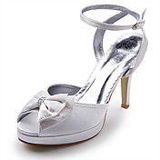 satin haut talons hauts sandales à lanières a... – EUR € 21.36