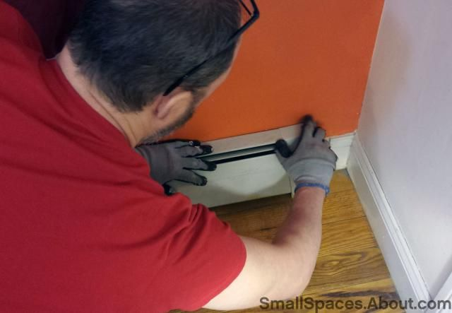 How to Remove Baseboard Radiators Covers: Step 1: How to Remove Baseboard Radiator Covers.