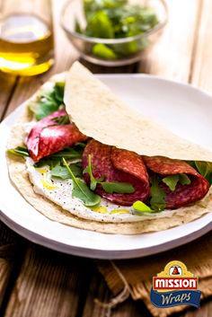 #missionwraps #danie #główne #przepis #szybko #zdrowo #jedzenie #pomysł #obiad #witaminy #okazje #praca #do #pracy #przekąska #szybki #posiłek #wraps #food #inspiration #meal #salami #rucola www.missionwraps.pl