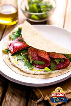 #missionwraps #wraps #food #inspiration #meal #eggs #rucola #salami www.missionwraps.es