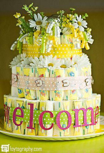 Diaper Cake | Flickr - Photo Sharing!