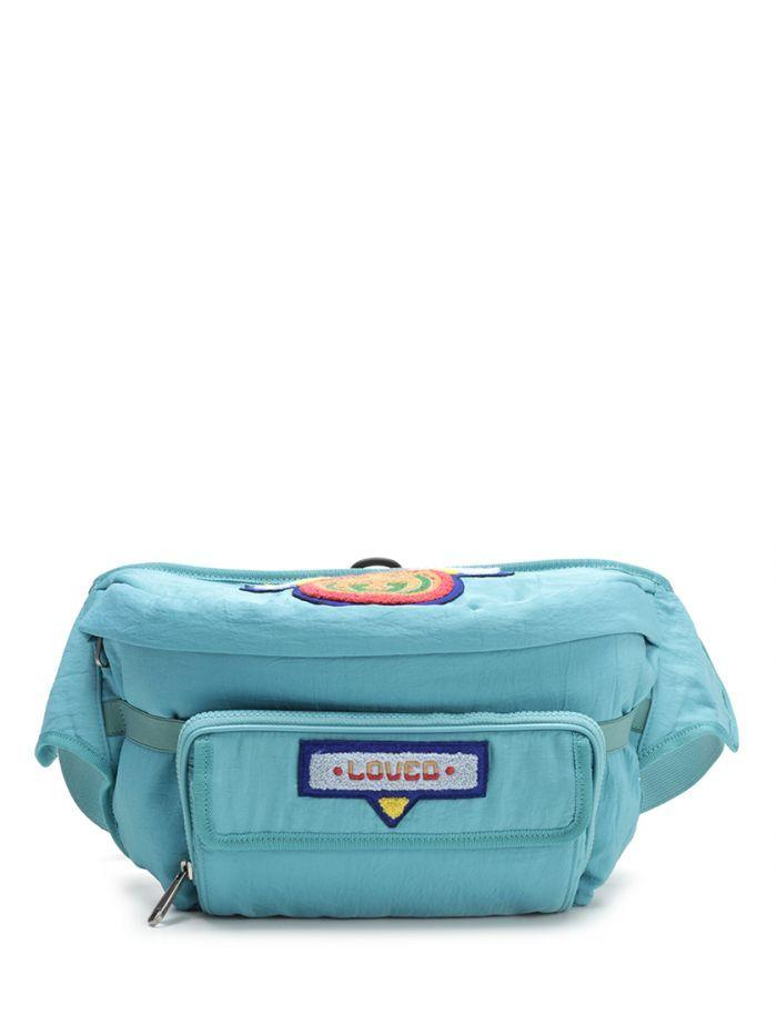 6b80b68c567 GUCCI Belt bag with Gucci  80s patch.  gucci  bags  belt bags  nylon ...