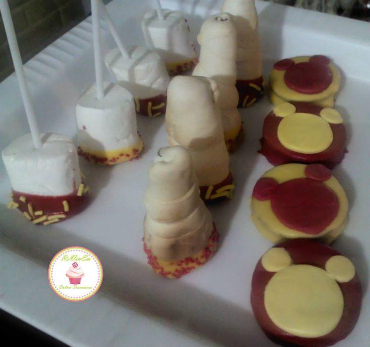 marshpops mini cachitos alfajores con figura