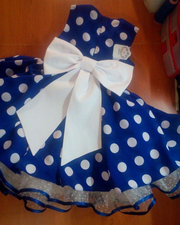 Детское платье в ретро стиле